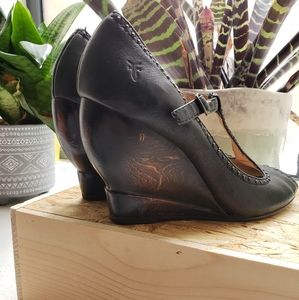 Frye Leather Wedges